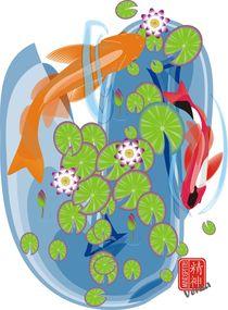 Fishpond by Verna Jiu