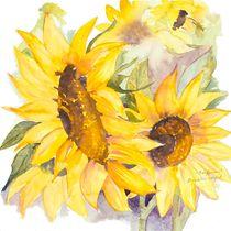 Sunflowers von Elisabeth Wakeford