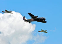 Battle of Britain Memorial Flight by John Biggadike