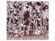 Brown birches von Agata Nawrot