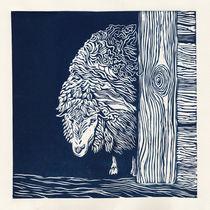 Blue sheep von Agata Nawrot