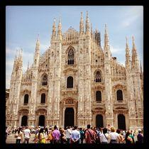 Busy Duomo von Azzurra Di Pietro