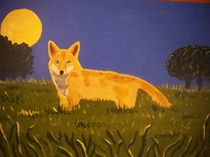Moonlit Fox by Eamon Reilly