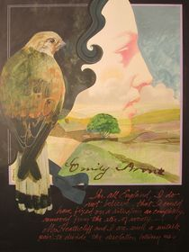 Emily Bronte by Chuck Hamrick