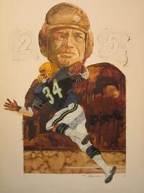 Football Legends by Chuck Hamrick
