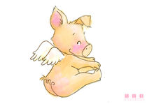 Angel Pig 02 by sarah-emmanuelle-burg