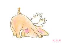 Angel Pig 01 von sarah-emmanuelle-burg