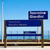 Bahnstation - Giardini Naxos - Sicily by captainsilva