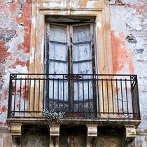 SIZILIANISCHE FASSADE mit Balkon - Taormina  by captainsilva