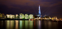 The Shard laser light Show von Dawn OConnor