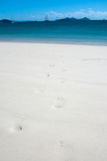 Footprints in the sand von George Kay