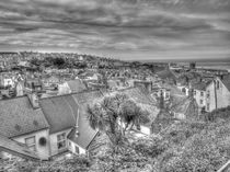 St Ives Rooftops by Allan Briggs