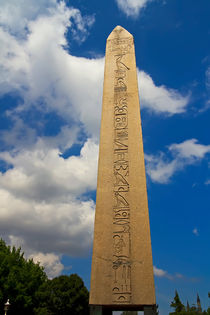 Obelisk At The Istanbul by Engin Sezer