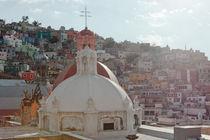 Cupolas in Guanajuato by Jacobo Zanella