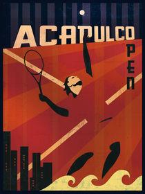 Acapulco Tennis von Benjamin Bay