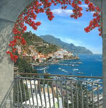 Amalfi Vista by Richard Harpum