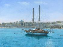 Hera II, Valletta, Malta von Richard Harpum