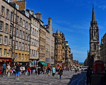 The Royal Mile by Pravine Chester