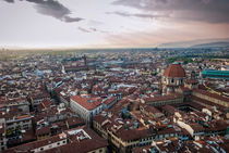 Florence Cityscape by Russell Bevan Photography