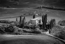 The Belvedere - Black & White by Russell Bevan Photography