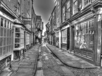 The Shambles York by Allan Briggs