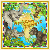 African Jungle by Lisa  McCue