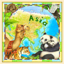 Asia by Lisa  McCue
