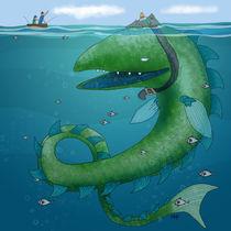 Mermaid von artbykeys