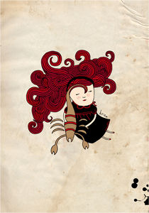 Scorpio Girl von Kristina  Sabaite
