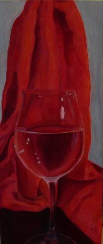 Weinglas von Elke Sommer