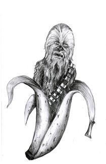 Chewbacca-banana