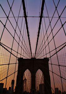Brooklyn Bridge by Julia  Berger