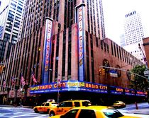 Radio City Music Hall by Julia  Berger