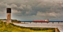 Leaving the Humber Estuary by tkphotography