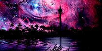 Tiefroter Himmel. by Bernd Vagt