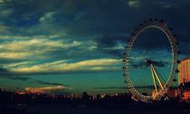 London Eye by Melissa Timpson