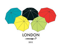 LONDON OLYMPIC POSTCARD by Elena Marchese