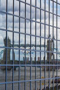 Tower Bridge reflection by David Pyatt