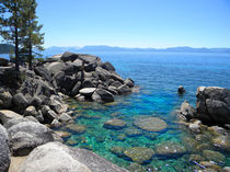Boulder Cove On Lake Tahoe by Frank Wilson