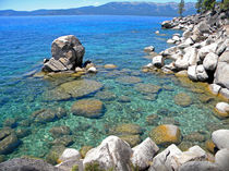 Lake Tahoe Shore by Frank Wilson
