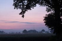 Sunrise seen from The Panoramaweg, Gulpen by Alex Voorloop