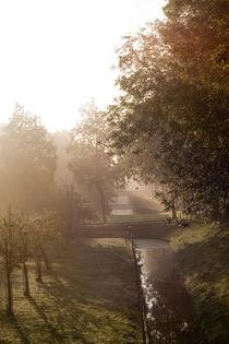 Sunrise seen from the Purmerdijk by Alex Voorloop