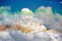 Coloured Clouds by John Biggadike