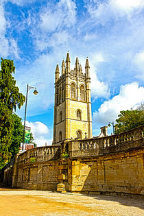 Magdalen tower oxford by Christopher Kelly