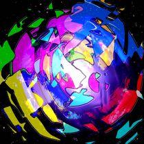 Ein Planet formiert sich. by Bernd Vagt