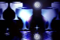 Blue glas. by Bernd Vagt