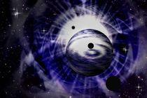 Ferne Planeten im Sonnenwind. von Bernd Vagt