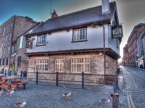 The King's Arms York von Allan Briggs