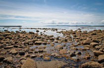 Ardrossan looking out to the Isle of Arran von Buster Brown Photography