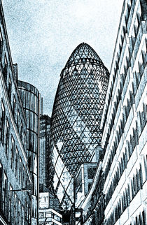 The Gherkin London by David Pyatt